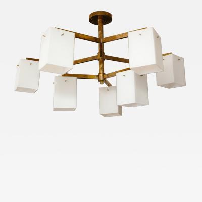 Custom Sculptural Jules Lighting Fixture