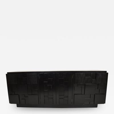 Customed Finish Mid Century Modern Credenza by Lane Furniture Milo Baughman Era