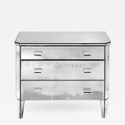 Cut Corner Mirrored Chest