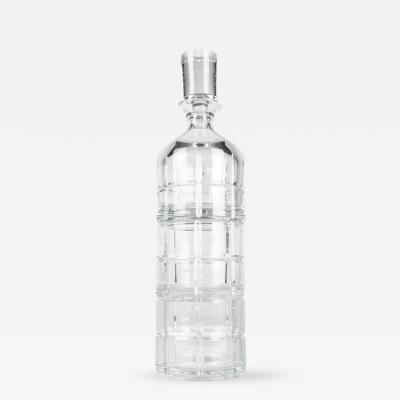 Cut Crystal Three Pieces Drinks Decanter