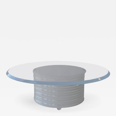 Cylinder Acrylic Coffee Table