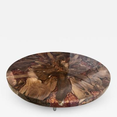 Cypress Wood Top for Dining Coffee Table