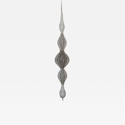D Lisa Creager DLisa Creager Woven Wire Hanging Sculpture
