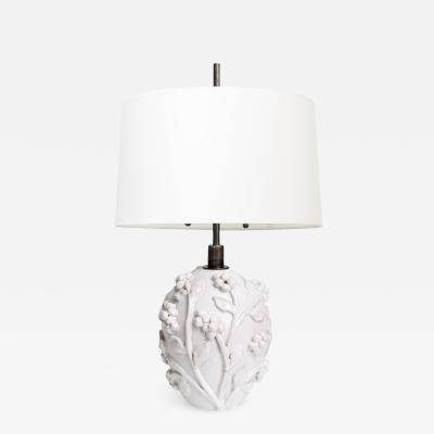 DANISH ART DECO CERAMIC TABLE LAMP