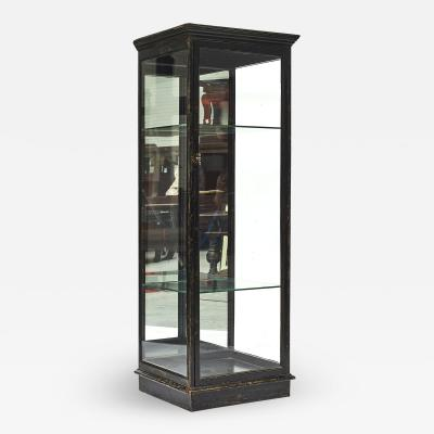 DISPLAY GLASS CABINET DENMARK C 1900