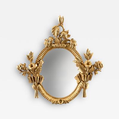 Dagobert Peche A Fine Viennese Secessionist Carved Giltwood Mirror