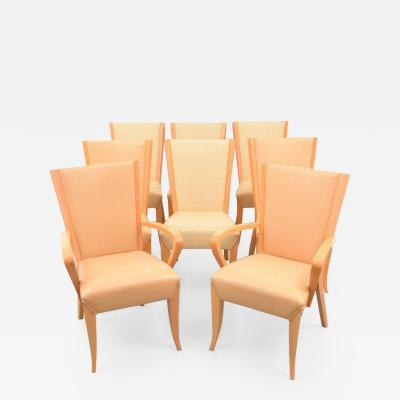 Dakota Jackson Dakota Jackson Dining Chairs Set of Eight