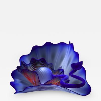 Dale Chihuly Byzantine Blue Persian Studio Edition 2017