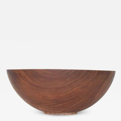 Dale Larson Pacific Madrone Wood Turned Bowl Mid Century