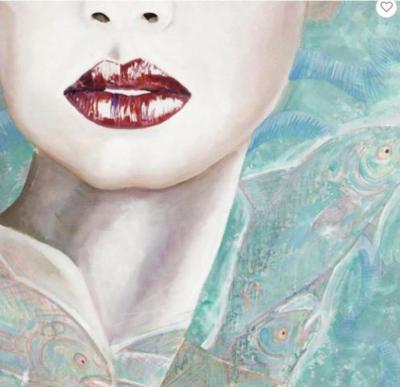 Dama Marina Painting by Vito Loli