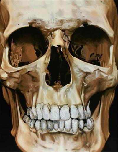 Damien Hirst The Skull Beneath the Skin 2005