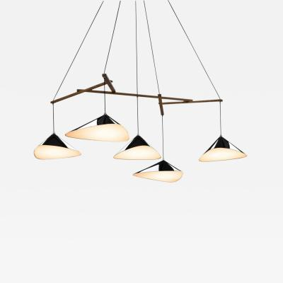 Daniel Becker Large Daniel Becker Emily Five Shade Chandelier