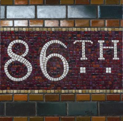 Daniel E Greene 86th St Mosaic