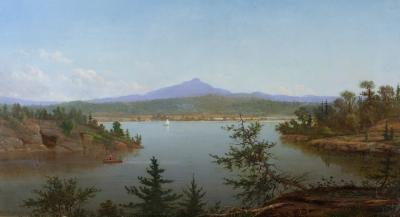 Daniel Folger Bigelow Lake in the Mountains