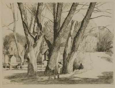 Daniel Garber Spring Valley Willows