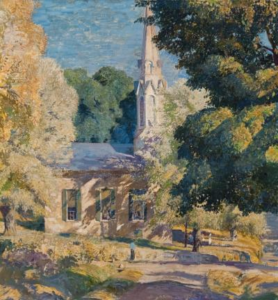 Daniel Garber Stockton Church