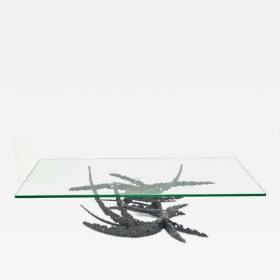 Daniel Gluck Dan Gluck Brutalist Swirl Table