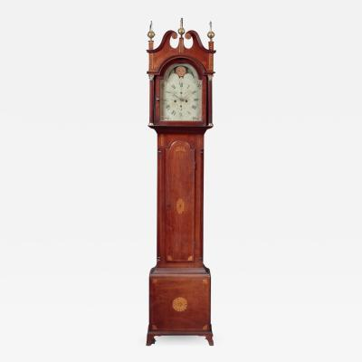 Daniel Porter FEDERAL INLAID TALL CASE CLOCK