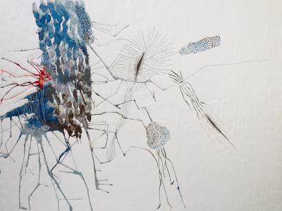 Daniela Busarello COSMOGRAPHIES N 1 Tapestry