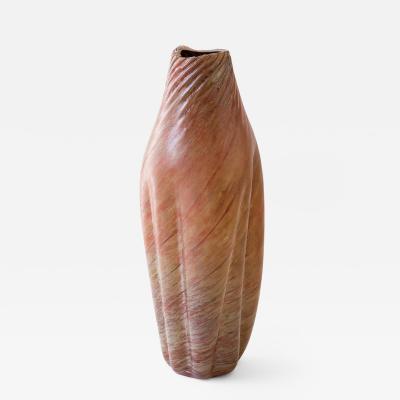 Daniela Busarello ROSA ORO IRIDE Hand Blown Glass Vase