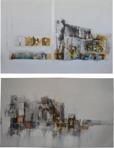 Danilo Vinardell Set of Two Pieces of Art by Danilo Vinardell