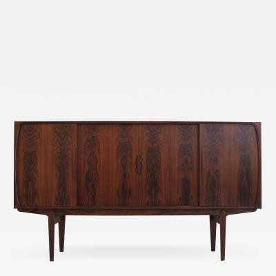 Danish Brazilian Rosewood Sideboard with Center Bar