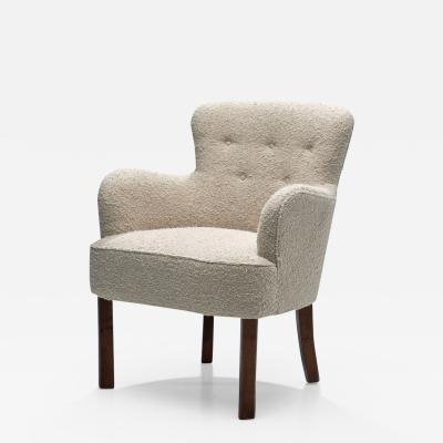 Danish Cabinetmaker Small Chair Denmark 1940s