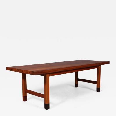 Danish Furniture Architect Solid teak coffee table