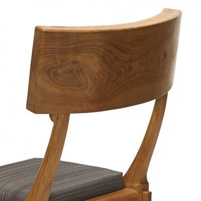 Danish Klismos Chair in Solid Pine