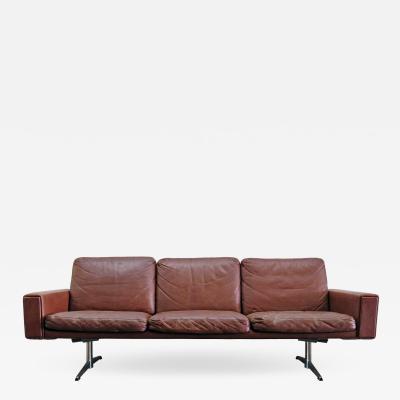 Danish Leather Sofa 1960