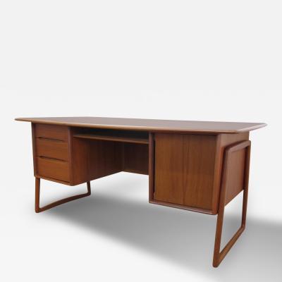 Danish Mid Century Modern Teak Desk