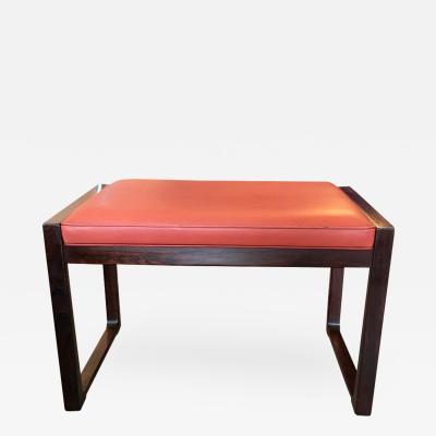 Danish Modern Rosewood Bench