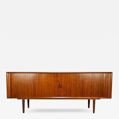 Danish Modern Teak BUffet or Credenza with Wicked Grain 1950s