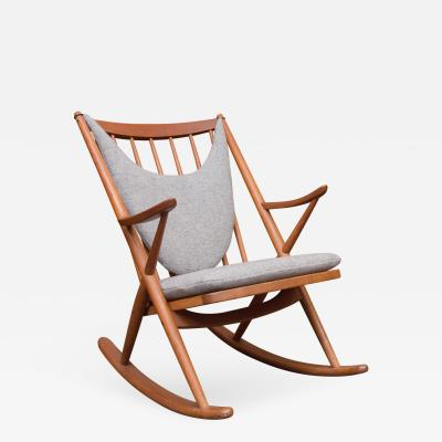 Danish Rocking Chair by Bramin