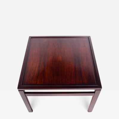 Danish Rosewood Side Table 1966