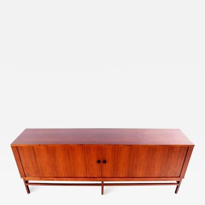 Danish Rosewood Sideboard with Tambour Doors