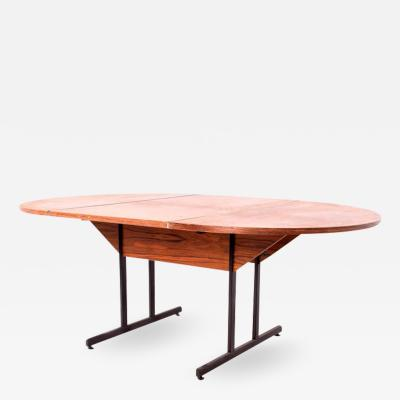 Danish Rosewood Veneer Work or Dining Table
