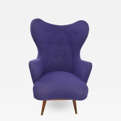 Danish Swivel Lounge Chair