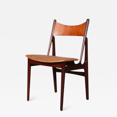 Danish cabinetmaker Sculptural chair teak