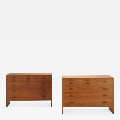 Danish cabinets pair