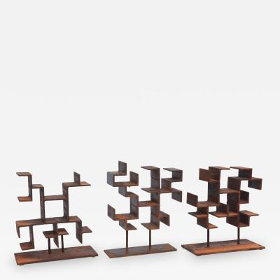 Daric Harvie Set of 3 American 21st Century Sculptures