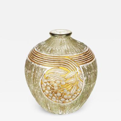 Daum Nancy Art Deco Daum Nancy Vase