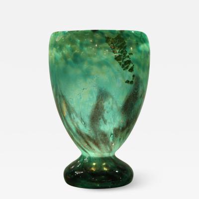 Daum Nancy DAUM Art Deco Glass Vase