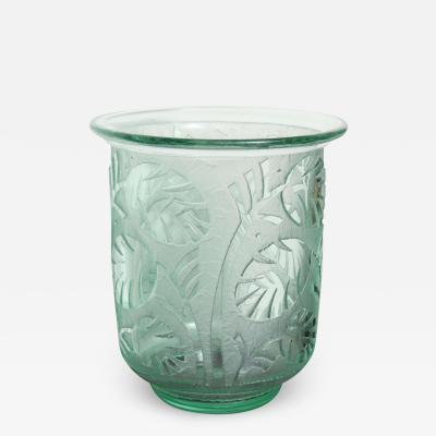 Daum Nancy Daum Nancy Art Deco Vase