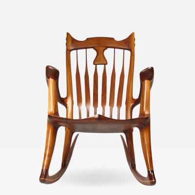 Dave Hentzel Dave Hentzel Hand Crafted Rocking Chair