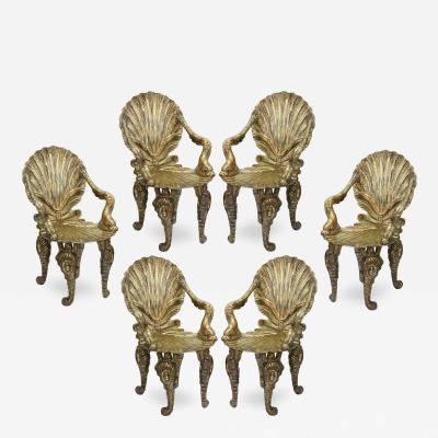 David Barrett Set of 8 Grotto Chairs by David Barrett