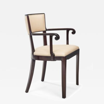 David Blomberg Swedish Grace Period Mahogany Armchair