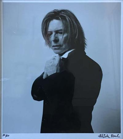 David Bowie Photograph by Mick Rock