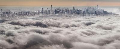David Drebin Above the clouds