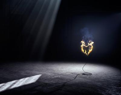 David Drebin Heart on stage